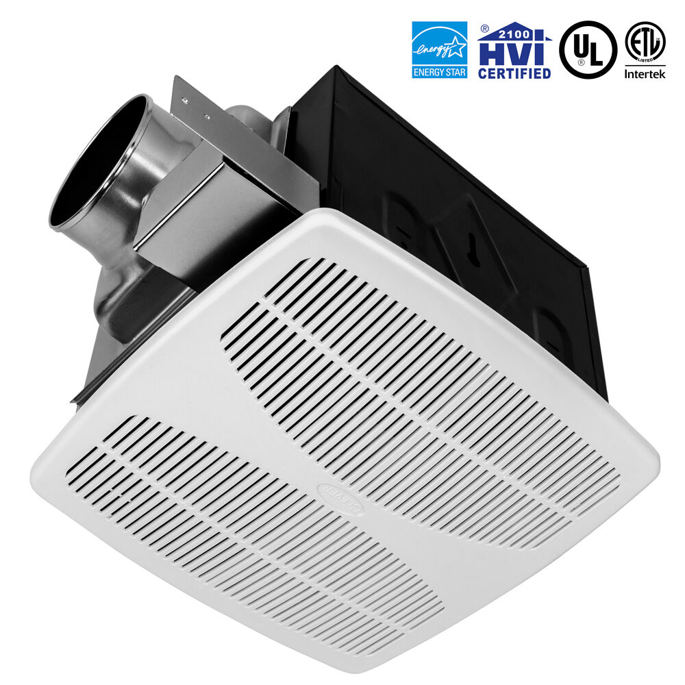 Bv 110 cfm bathroom fan ceiling ventilation exhaust vent for Bathroom ventilation
