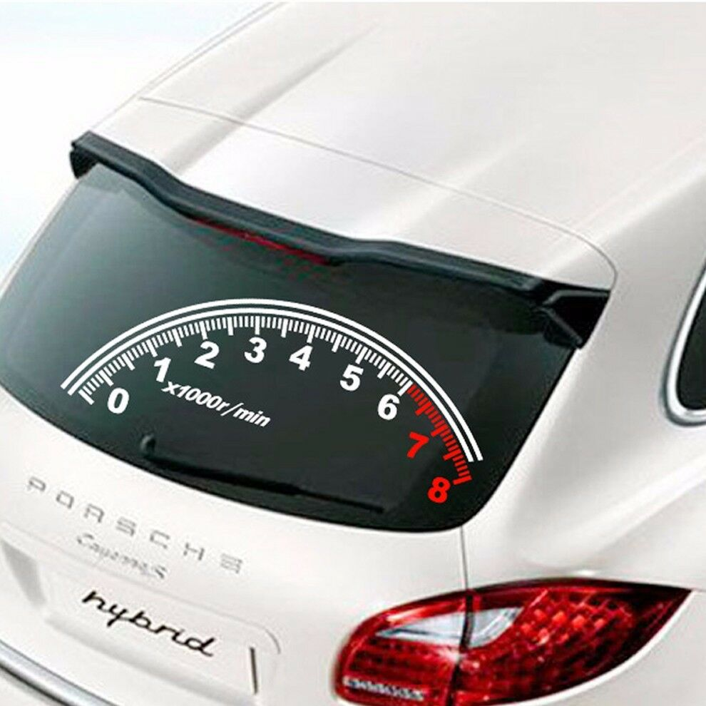 Off road sticker speedometer vinyl graphics decal Getting stickers off glass