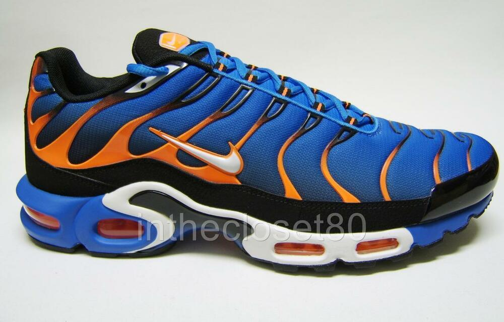 on sale c19c1 12497 wholesale mens nike air max tn blue orange b7251 3f032