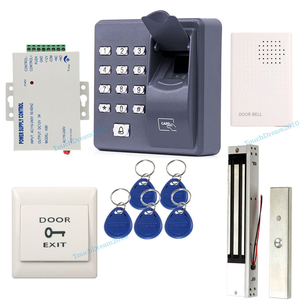 Fingerprint rfid card door entry access control system for Door entry systems