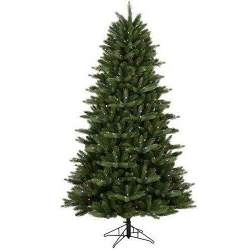 Artificial Christmas Trees Clearance: Clearance 7.5' GE Just Cut Artificial Christmas Tree 400