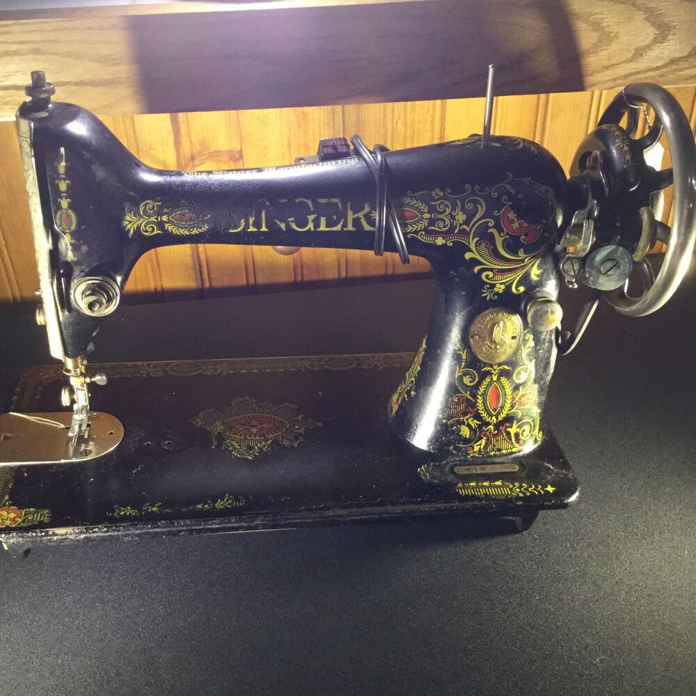 "Serial Number: Rare Singer Sewing Machine Without Cabinet ""Decorative"