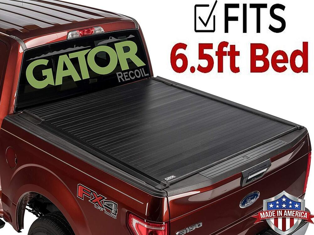 Gator recoil retractable tonneau cover 14 17 chevy for Retractable bed