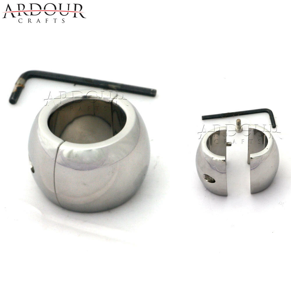 Stainless Steel Testicle Ball Scrotum Stretcher Ball