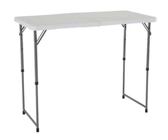 folding square granite dp table with inch lifetime tables molded top