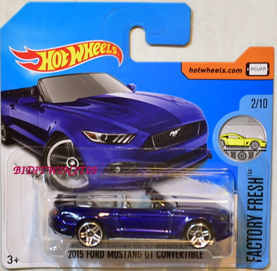 HOT WHEELS 2017 FACTORY FRESH 2015 FORD MUSTANG GT