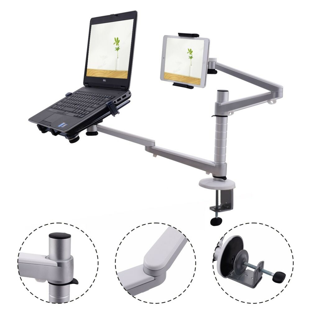 2 In 1 Laptop Amp Ipad Stand 360 176 Rotating Height Adjustable