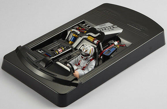 1 10 interior cockpit driver rear mid engine for rc car body shells ebay. Black Bedroom Furniture Sets. Home Design Ideas