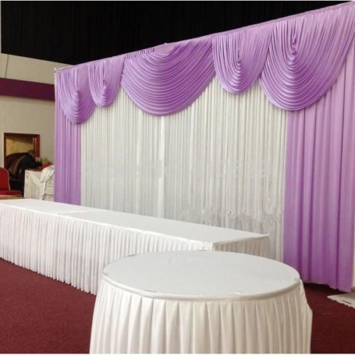 Wedding Stage Decorations Backdrop Party Drapes With Swag
