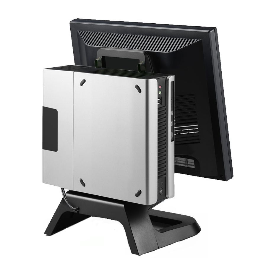 S001 Mini Itx Pc Case With Vesa Stand Psu Skylake Kaby