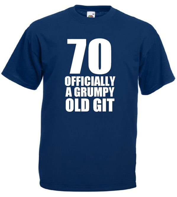 Details About 70 Officially T Shirt Mens 70th Birthday Gifts Presents Gift Ideas For Man Dad