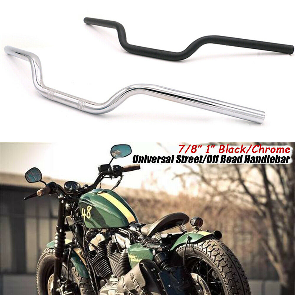 universal 7 8 1 motorcycle tracker handlebars drag bar
