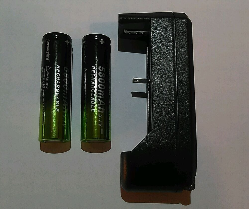 2 Rechargeable Batterys Amp 1 Charger For Use With Atomic