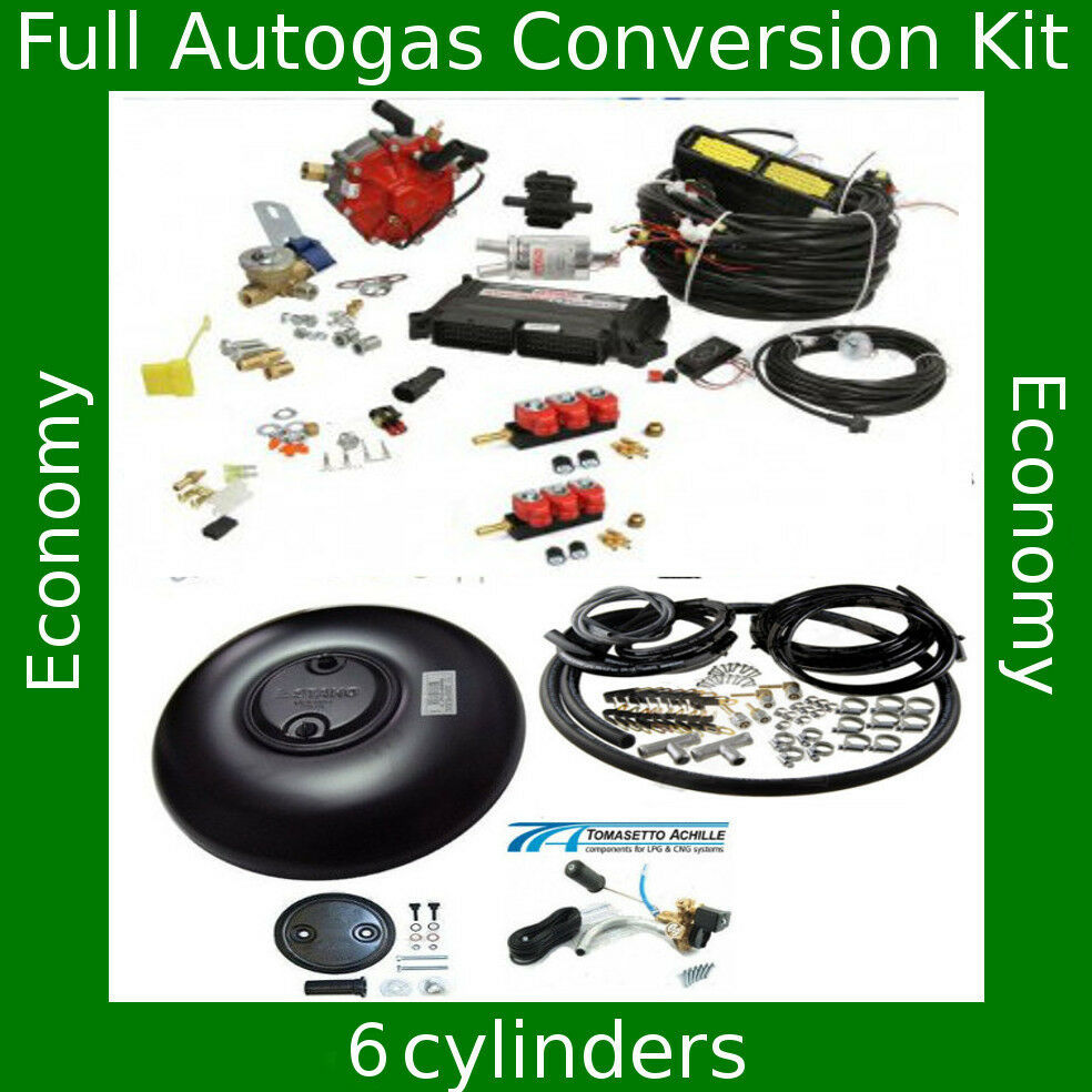 complete autogas conversion kit for 6 cylinders stag qmax. Black Bedroom Furniture Sets. Home Design Ideas