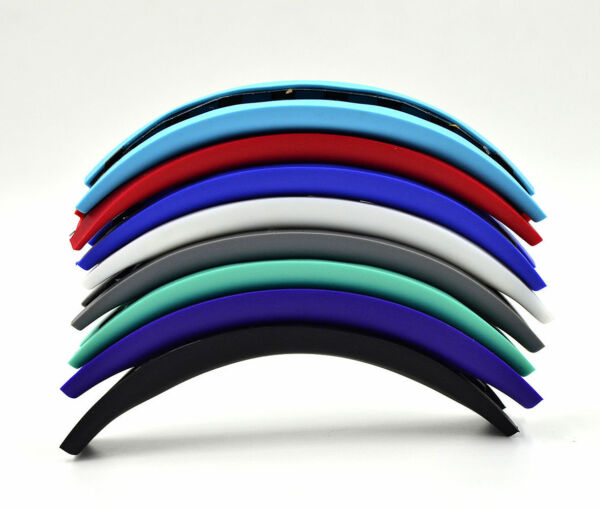 Colorful Rubber headband cushion hoops bands for SOLO headset headphones UK