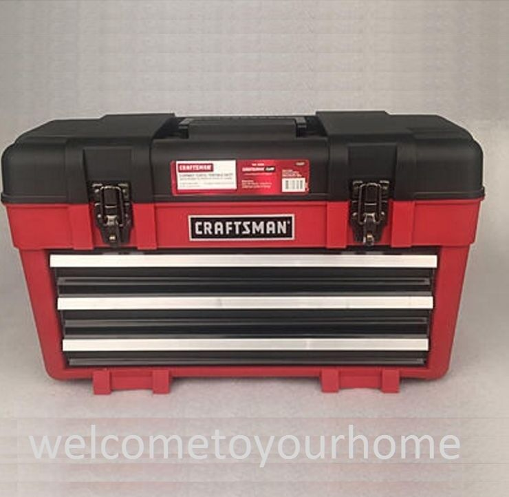 "Craftsman 23"" Wide Portable Tool Chest Organizer Garage"