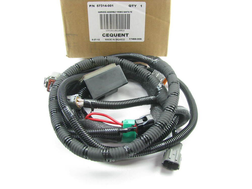 new genuine trailer towing wire wiring harness oem for. Black Bedroom Furniture Sets. Home Design Ideas