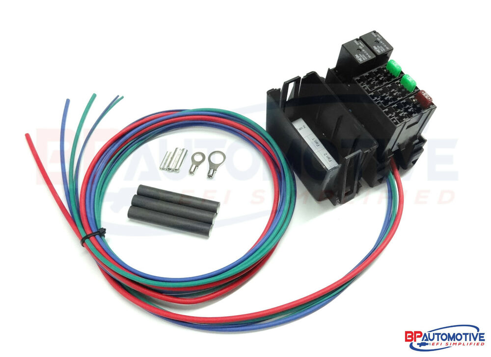 Ls1 Wiring Harness Swap Kit : Standalone dual fan relay kit for gm lsx swap ls