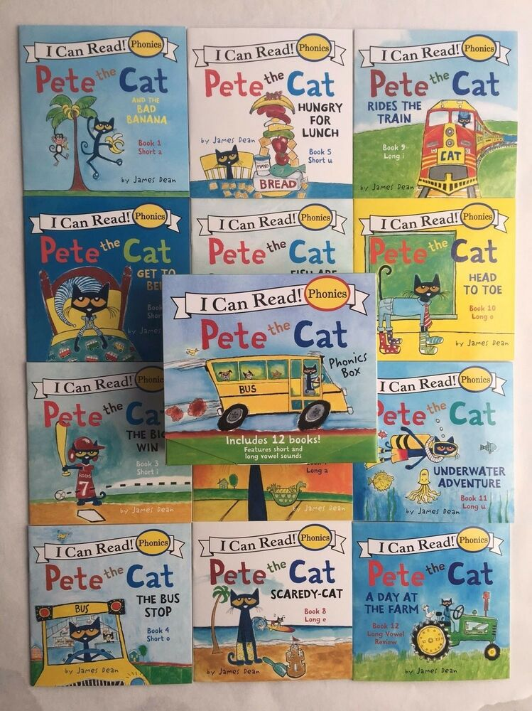 Pete The Cat I Can Read Books