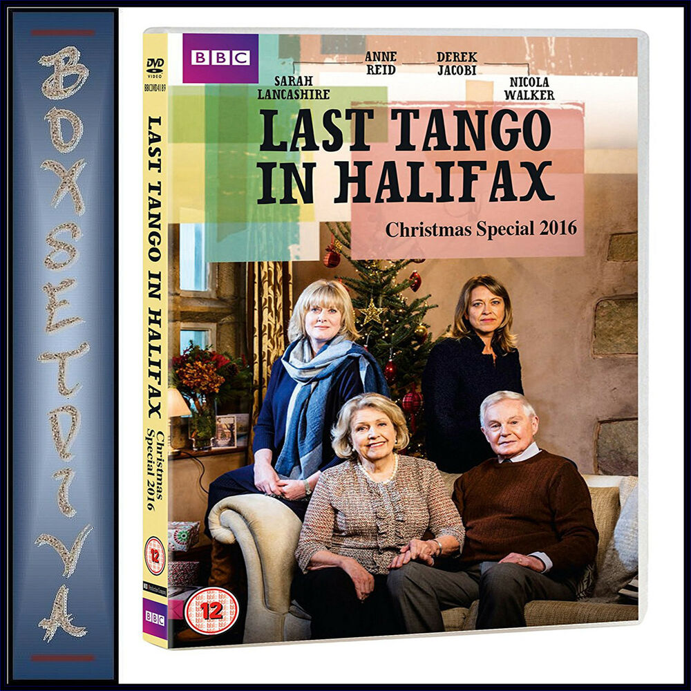 LAST TANGO IN HALIFAX - 2016 CHRISTMAS SPECIAL **BRAND NEW DVD ...