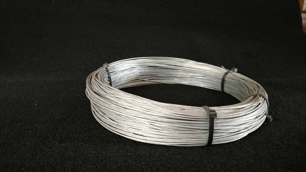 Snare Cable Galvanized Aircraft Cable 7x7 3 32 100 Feet