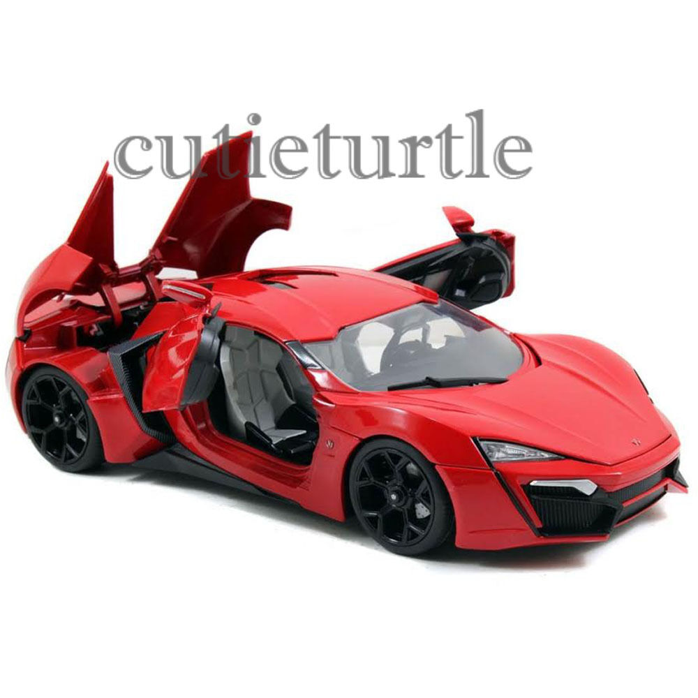 jada fast and furious 7 lykan hypersport 1 18 diecast. Black Bedroom Furniture Sets. Home Design Ideas