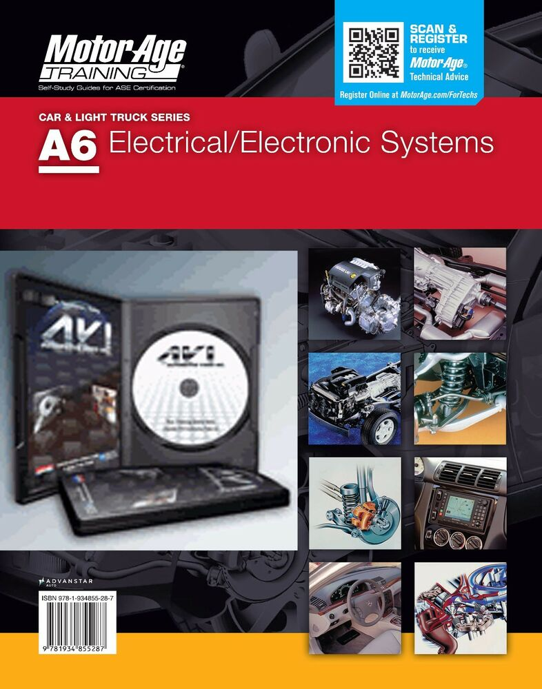 ASE DVD Study Guide Set - A6 Electrical/ Electronic Systems | Motor ...