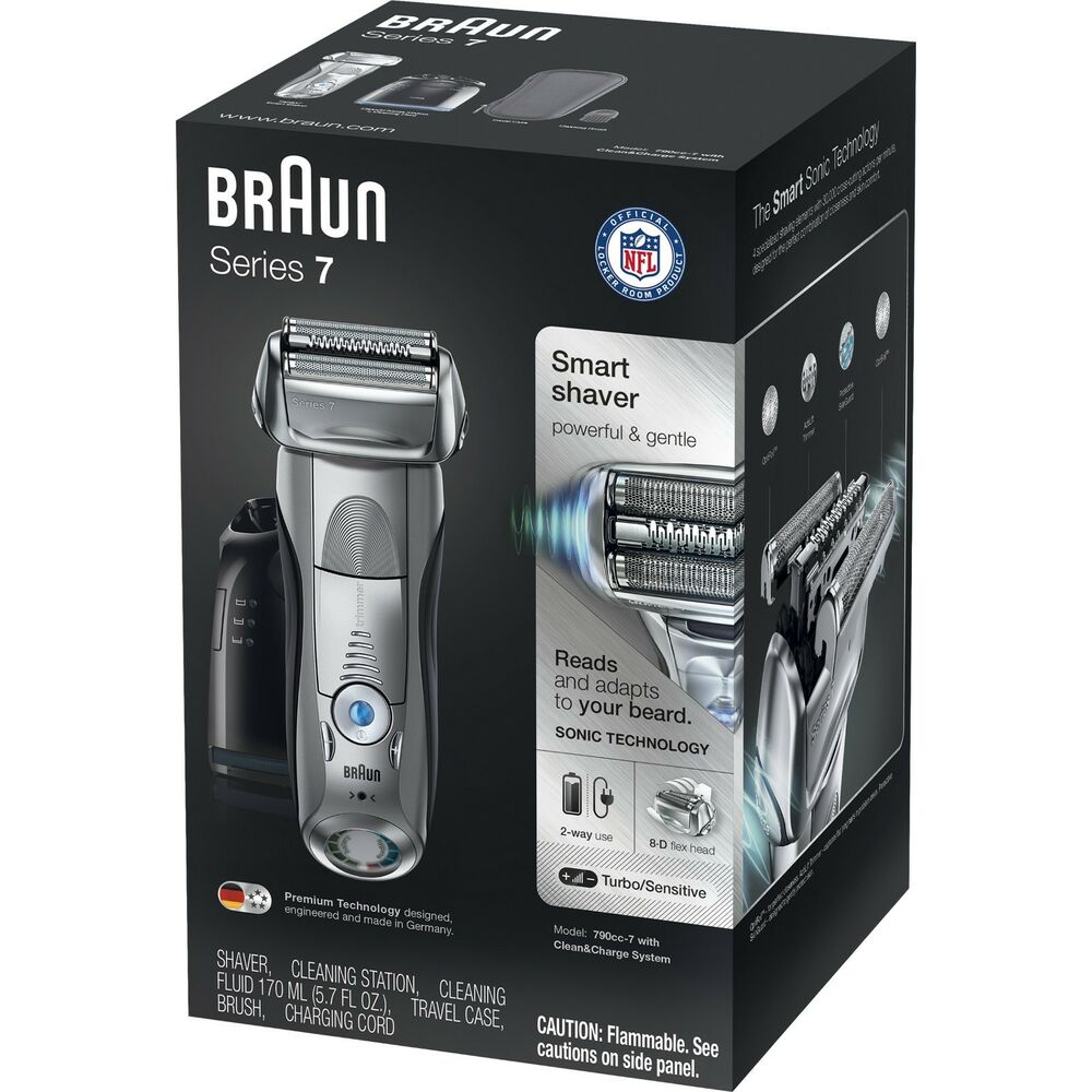 braun series 7 790cc 4 cord cordless rechargeable men 39 s. Black Bedroom Furniture Sets. Home Design Ideas