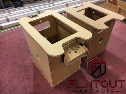 Diy arcade cocktail table 18mm mdf with t moulding slot ebay for Diy cocktail table
