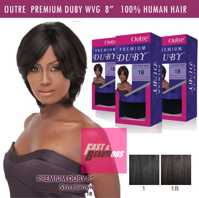 Outre Premium Duby 100 Human Hair Weave Extension Pre