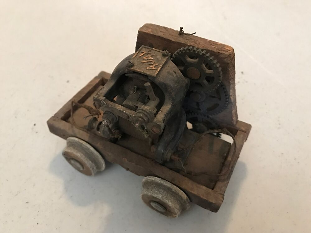 Electric Irons From The 1900s ~ Antique early s electric toy train car engine ajax
