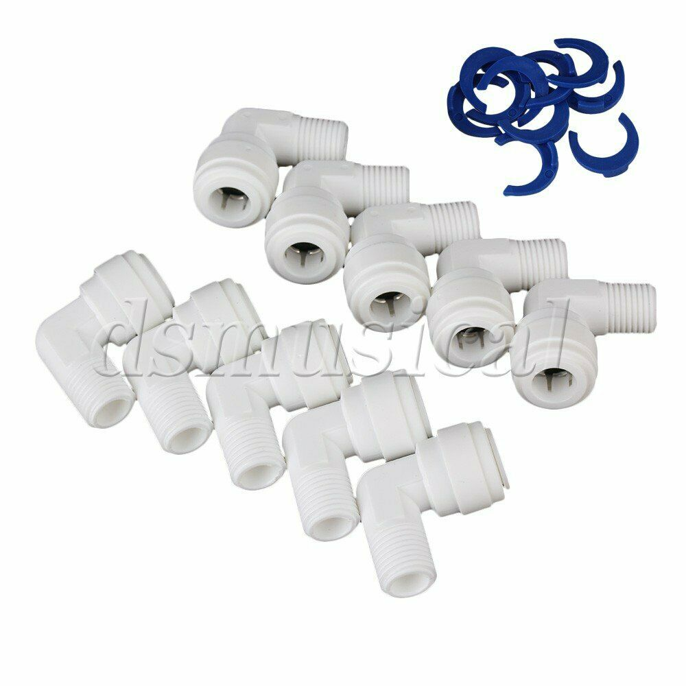 Plastic quot thread od elbow fitting quick