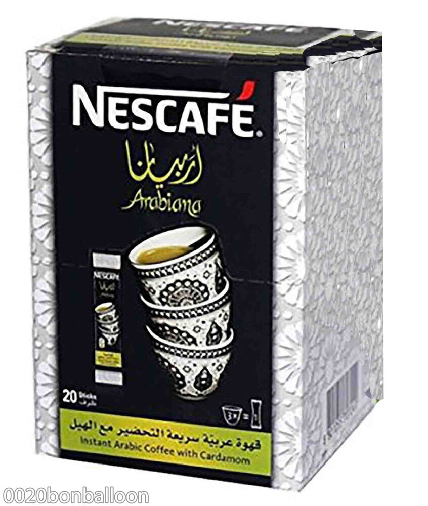 Arabiana Nescafe Instant Arabic Coffee