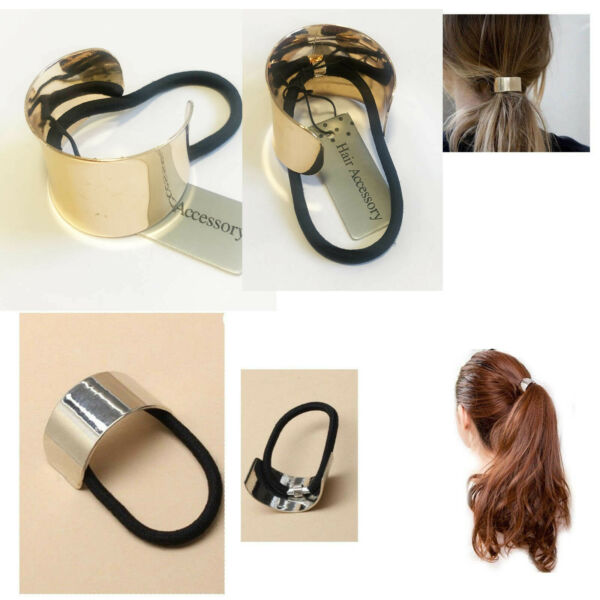 Hair Ponytail Ring Elastic Band Cuff Cover Rope Holder Women Tie Hairband Ties