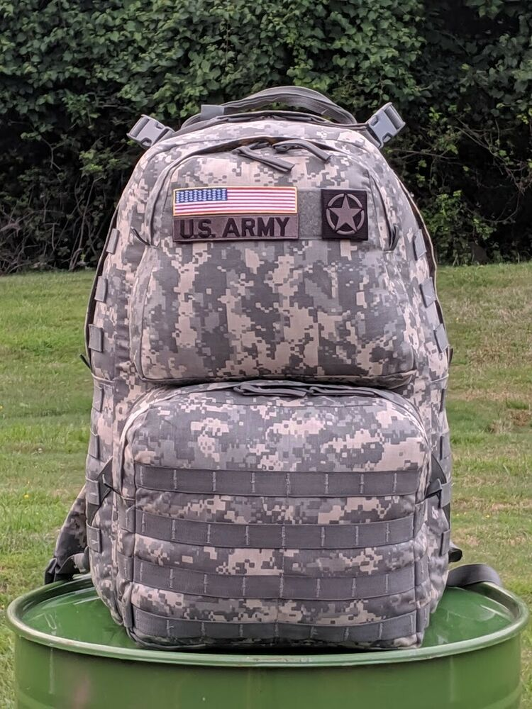 New Us Army Acu Molle Rucksack With Frame Medium Military