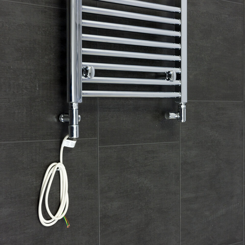 Heated Towel Rail Replace Radiator: Dual Fuel Valves Conversion Heating Element Electric