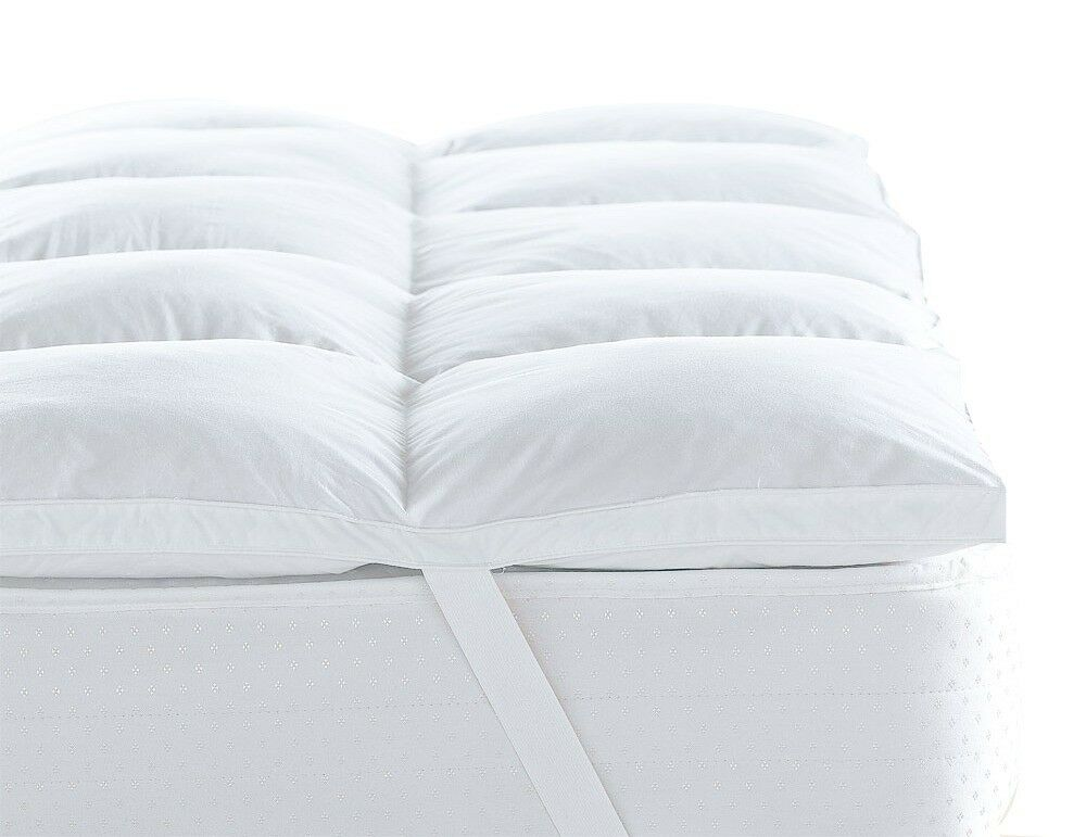 Double Bed Size Mattress Topper 5 Hotel Quality Luxury