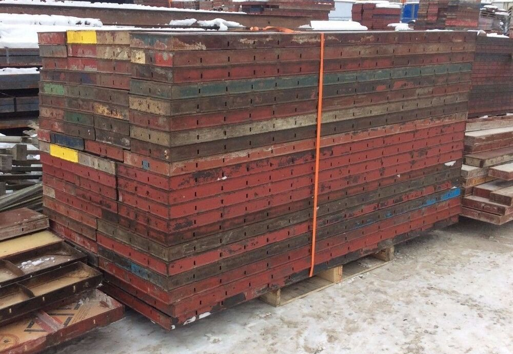 Concrete Wall Forms : Symons concrete wall forms steel ply pcs foot ebay