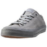 Converse Chuck Taylor All Star Ii Ox Mens Trainers Grey New Shoes