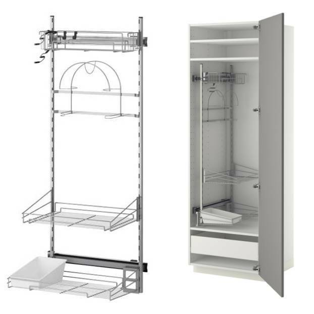 Ikea Cleaning Interior/ Pull Out Kitchen Storage Laundry