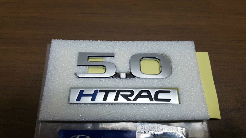 Oem Rear Trunk 5 0 Lettering Emblem Badge For 2017
