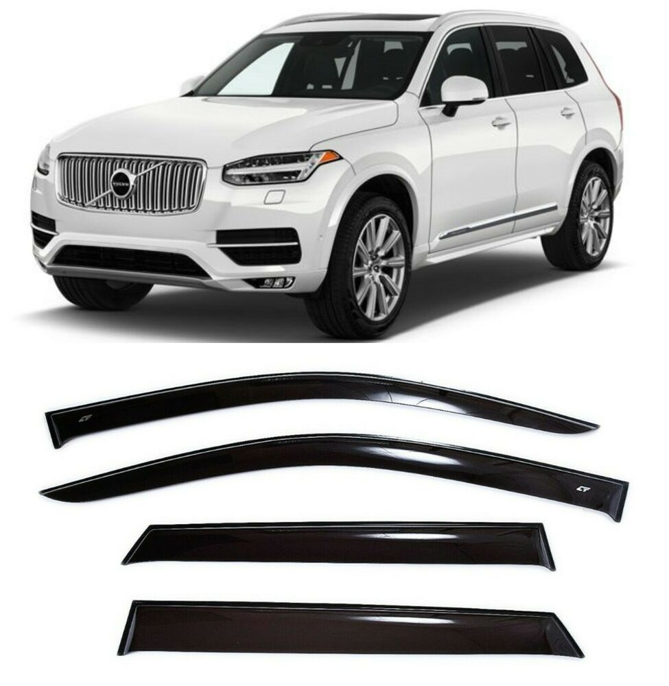 For Volvo XC90 2015-2017 Side Window Visors Sun Rain Guard