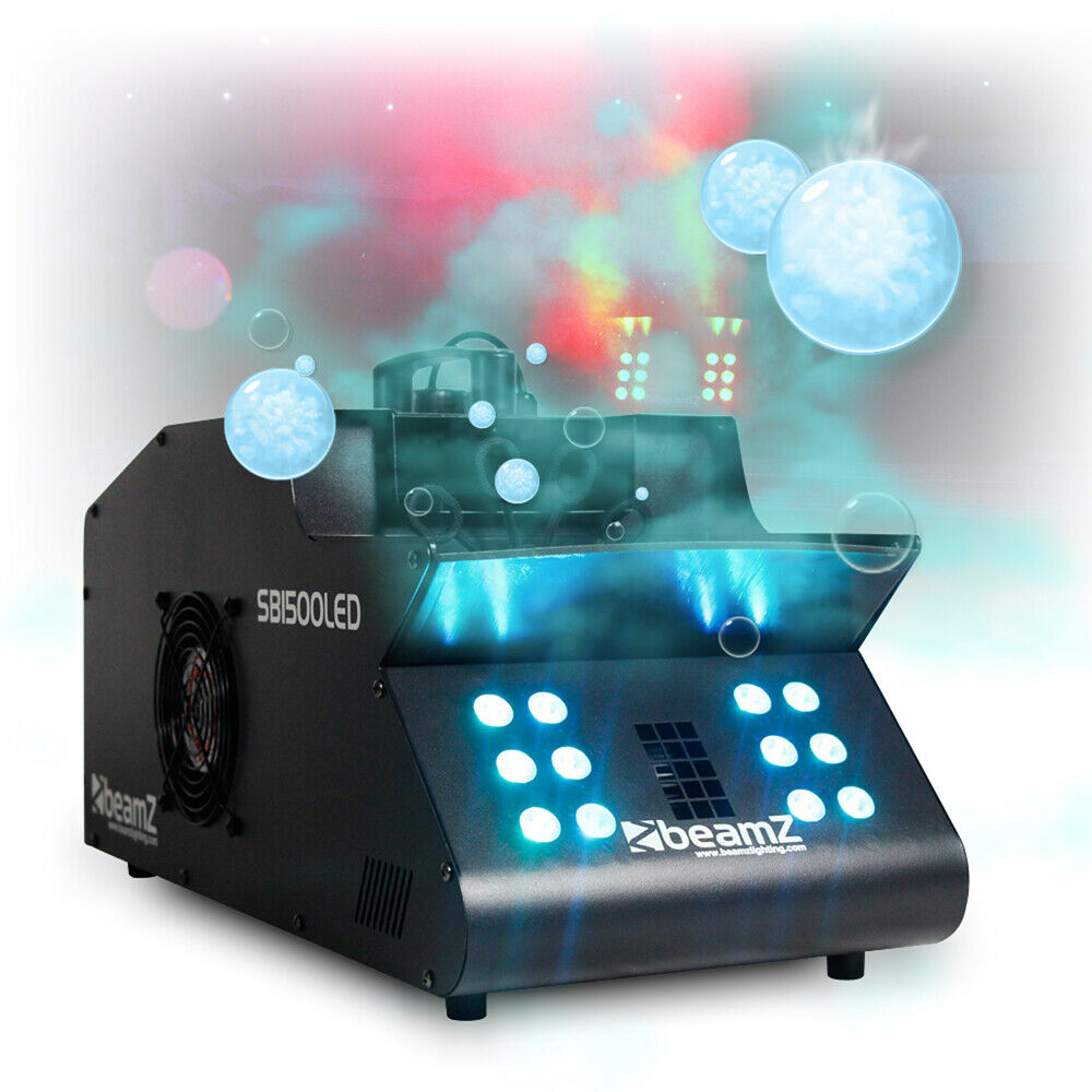 Dmx Smoke Bubble Machine Colour Led Lights High Output Fog