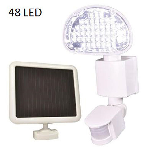 Defiant 48 LED Solar Powered Motion Activated Flood Light