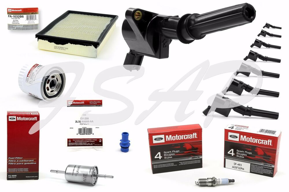 Car Tune Up Parts : Tune up kit  ford crown victoria ignition coil