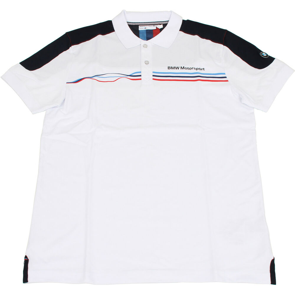 original bmw motorsport fan poloshirt t shirt herren gr e. Black Bedroom Furniture Sets. Home Design Ideas
