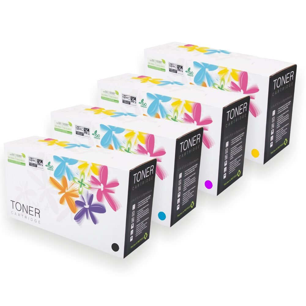 4 colour tn241 tn245 toner cartridges for brother dcp 9015cdw dcp 9020 ebay. Black Bedroom Furniture Sets. Home Design Ideas