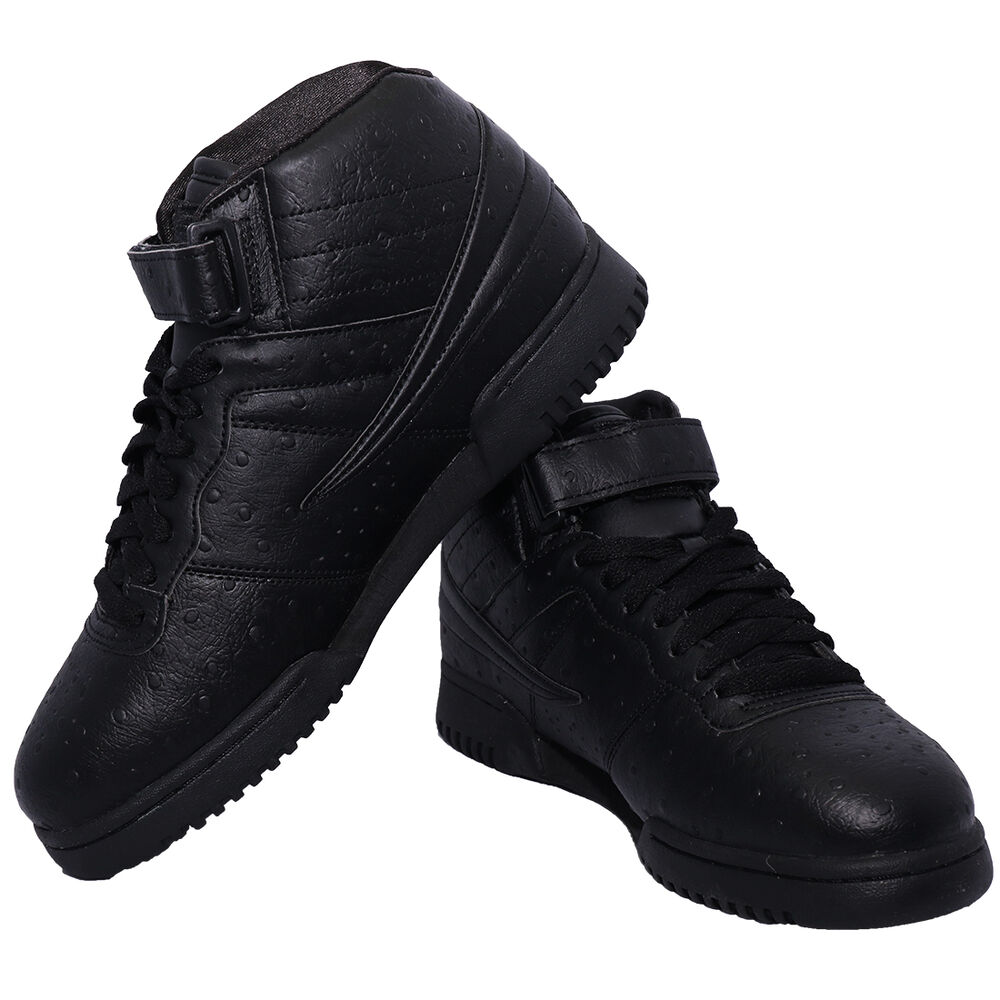650df8f0a0 Details about NEW Men Fila F13 F-13 OSTRICH PREMIUM Classic Mid High Top  Basketball Shoes