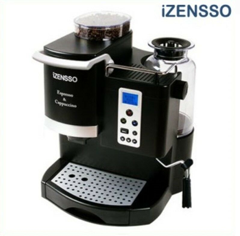 izensso auto multi espresso machine ins 8650 lcd simple. Black Bedroom Furniture Sets. Home Design Ideas