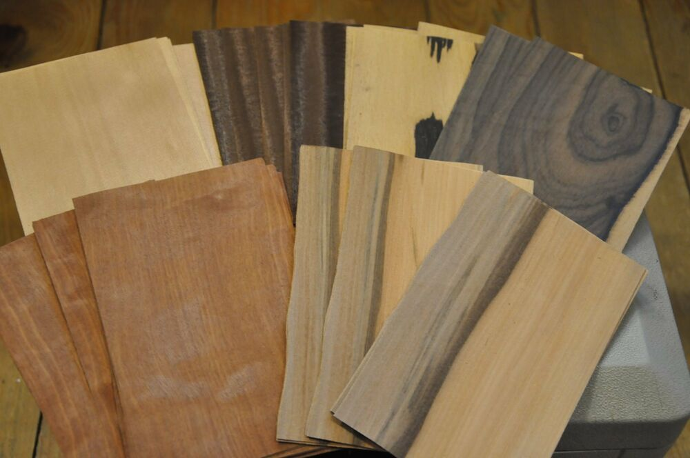 Wood veneer for crafts 11 sheets each 5 kind 55 5 x 8 for Wood veneer craft projects